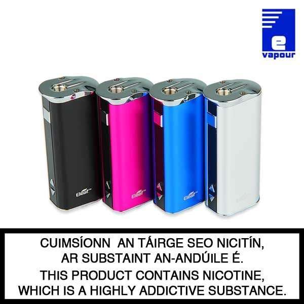 Eleaf iStick 30 Watt Kit - Black, Rose Red (Pink), Blue, Silver