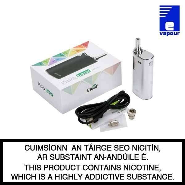 Eleaf iStick Basic- Kit Contents