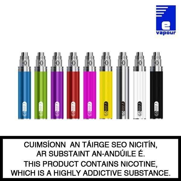 Greensound GS Ego II 2200mAh Electronic Cigarette Battery - Various Colours
