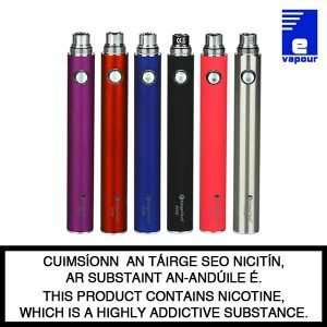 Kangertech Evod 1000 mAh Battery - Various Colours