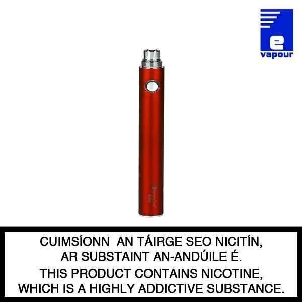 Kangertech Evod 650 mah Battery - Red