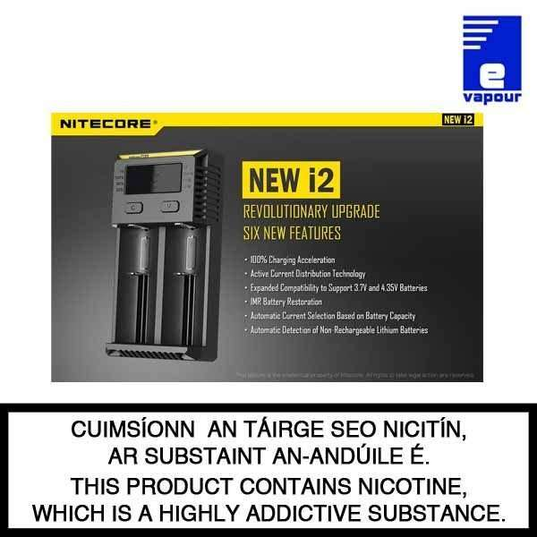 Nitecore intellicharger i2 - New Features