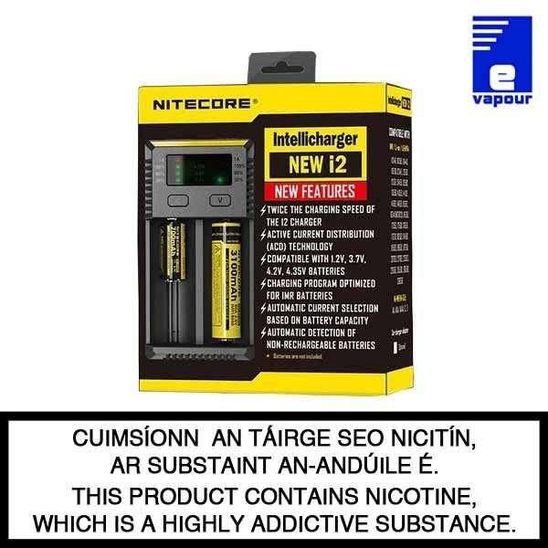 Nitecore intellicharger i2 - 2 bay battery charger