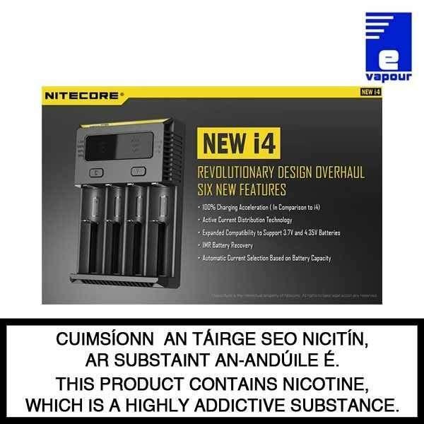 Nitecore intellicharger i4 - New Features