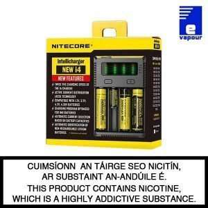 Nitecore intellicharger i4 - 4 bay battery charger