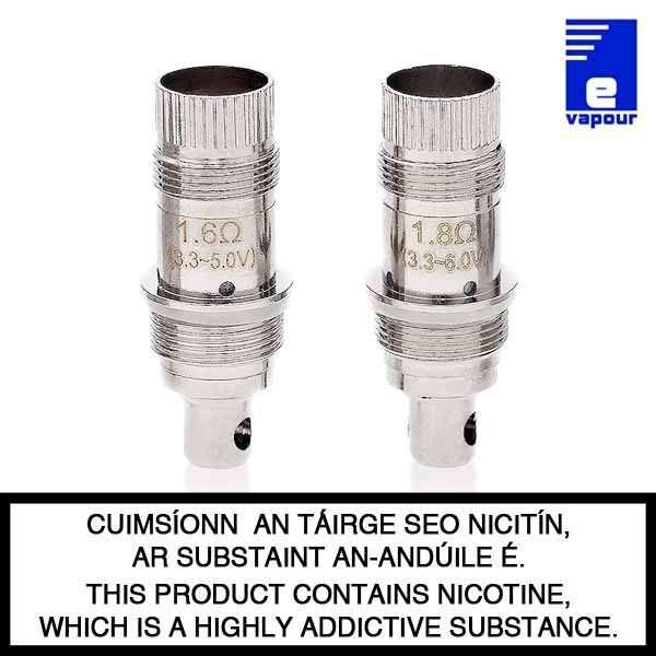 Aspire BVC Coils - 1.6 Ohm and 1.8 Ohm