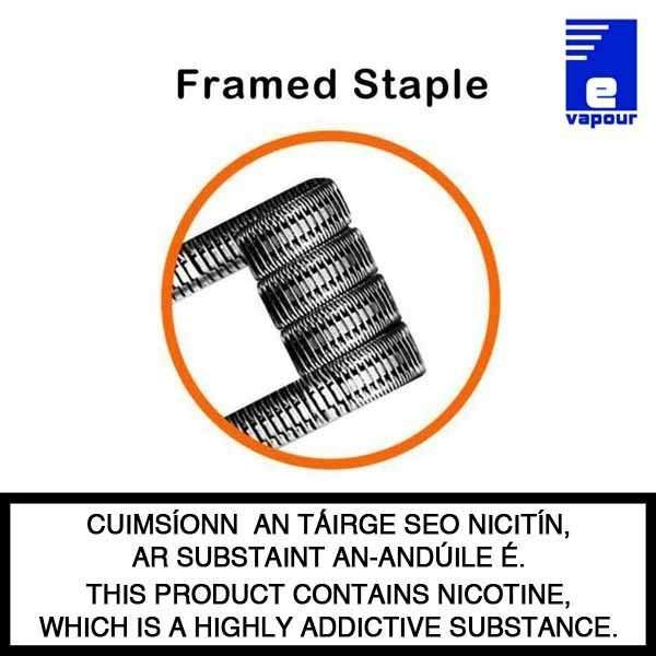Geekvape Pre-built Coils Box - Framed Staple - F202