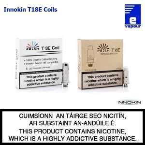 Innokin Endura T18E Prism Coils - 5 Pack