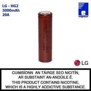 LG - HG2 - 18650 Battery (Single)