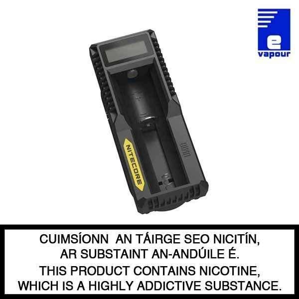 Nitecore UM10 Battery Charger - Single Bay