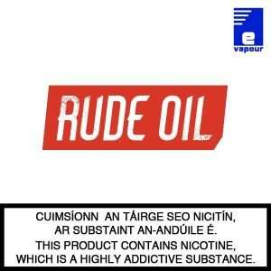 Rude Oil Logo - Cuts Ice