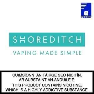 Shoreditch e-liquid 10ml Bottles