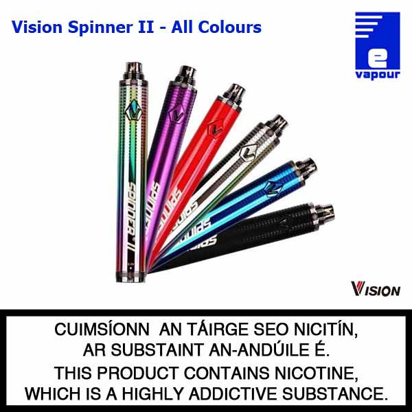 Vision Spinner 2 Battery - All Colours
