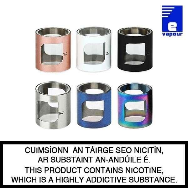 Aspire PockeX Replacement Glass Tube - 6 Colours
