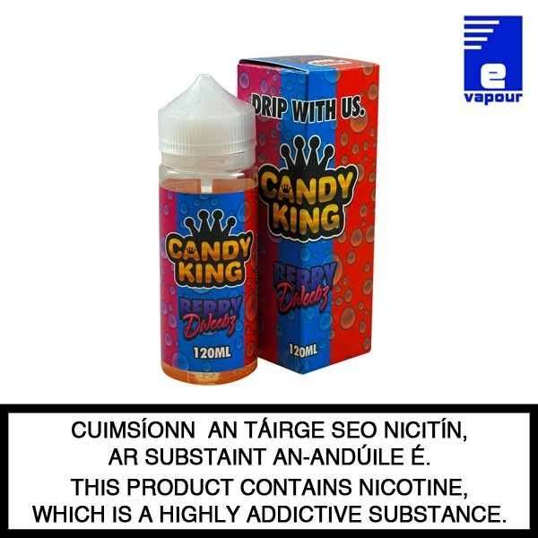 Candy King Berry Dweebs - 100ml Shortfill