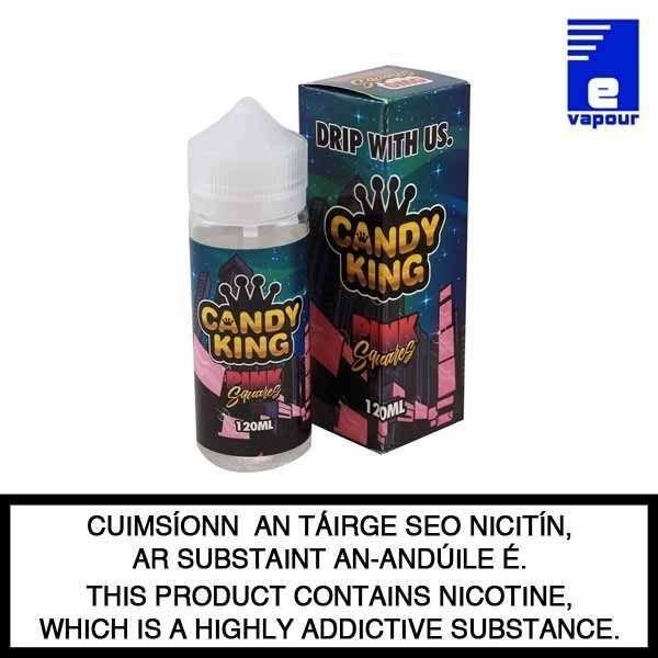 Candy King Pink Squares - 100ml Shortfill