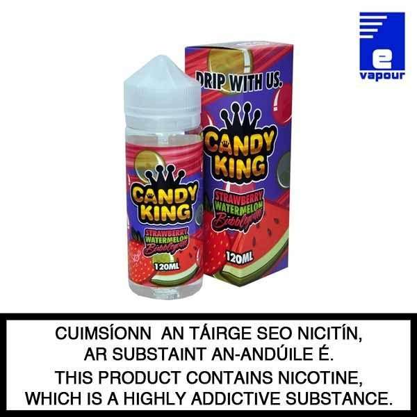 Candy King Belts Strawberry Watermelon Bubblegum - 100ml Shortfill