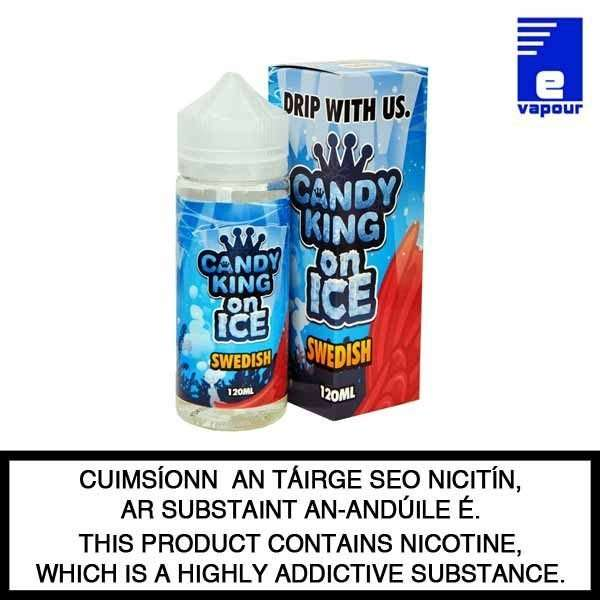 Candy King Swedish On Ice - 100ml Shortfill