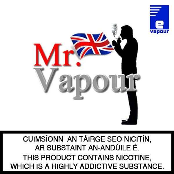 Mr. Vapour e-liquid Logo