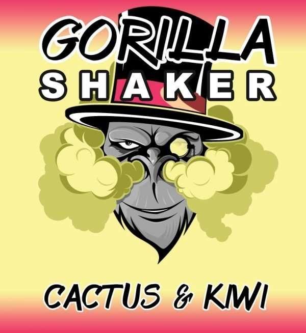 Gorilla Shaker 30ml Shortfill - Cactus & Kiwi