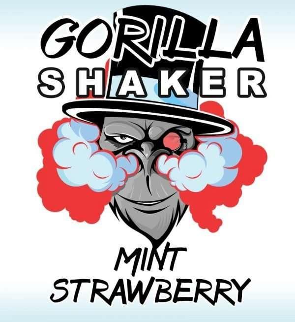 Gorilla Shaker 30ml Shortfill - Mint Strawberry