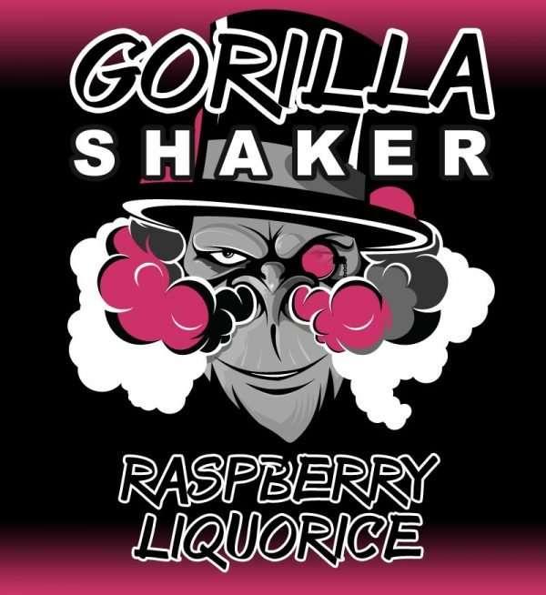 Gorilla Shaker 30ml Shortfill - Raspberry Liquorice