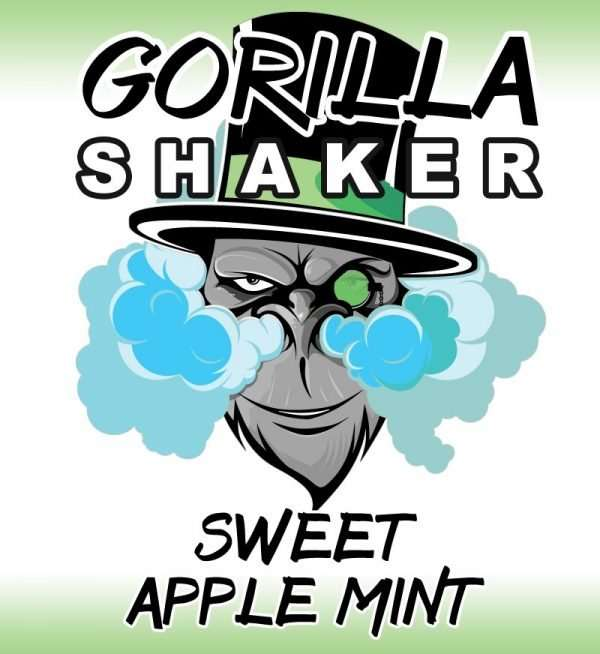 Gorilla Shaker 30ml Shortfill - Sweet Apple Mint