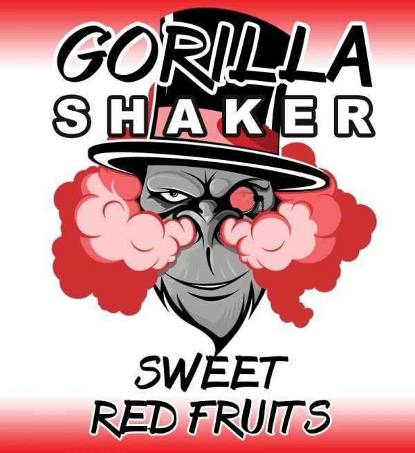 Gorilla Shaker 30ml Shortfill - Sweet Red Fruits