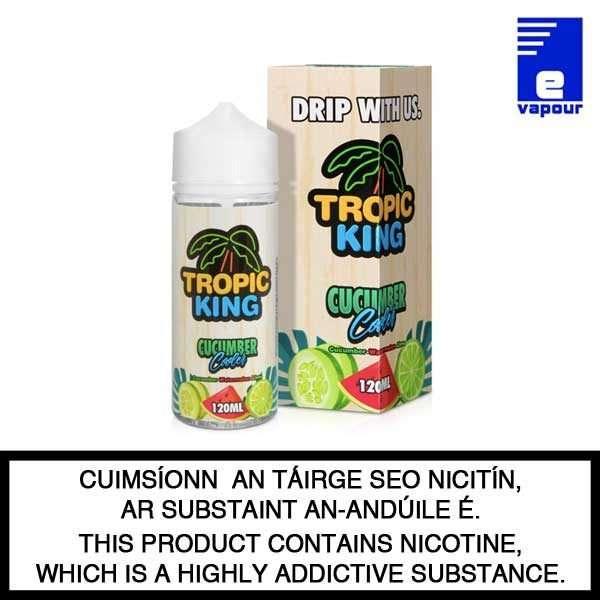 Tropic King Cucumber Cooler - 100ml Shortfill