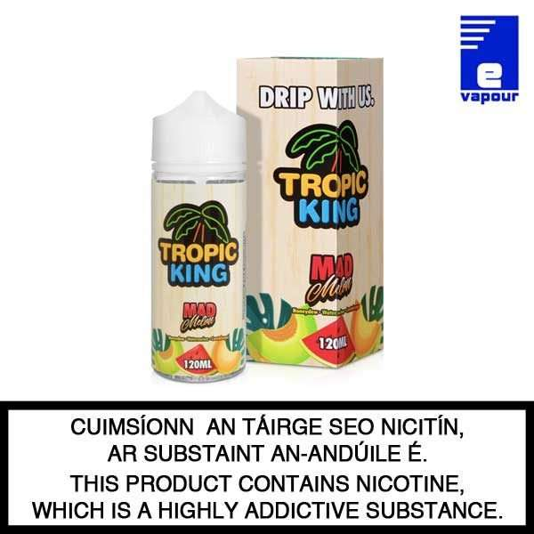 Tropic King Mad Melon - 100ml Shortfill