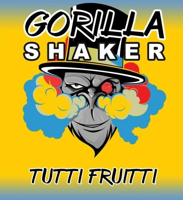 Gorilla Shaker 30ml Shortfill - Tutti Frutti