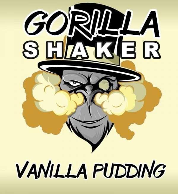 Gorilla Shaker 30ml Shortfill - Vanilla Pudding