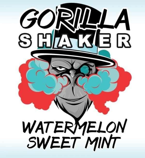 Gorilla Shaker 30ml Shortfill - Watermelon Sweet Mint