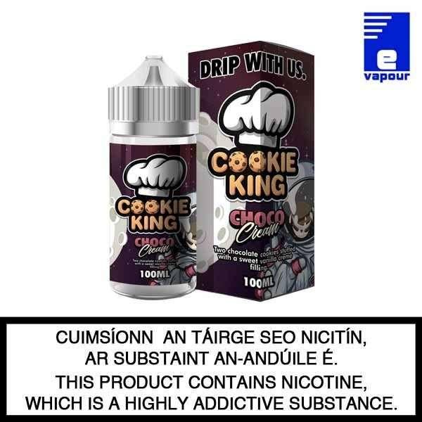 Cookie King Choco Cream - 100ml Shortfill