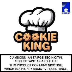 Cookie King Shortfill E-Liquids - 100ml