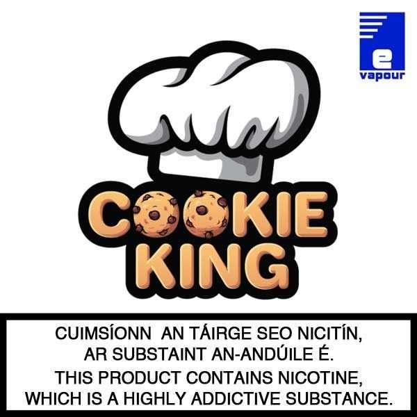 Cookie King Shortfill E-Liquids - 100ml