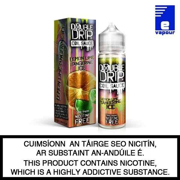 Double Drip 50ml Shortfill - Lemon Lime Tangerine Ice