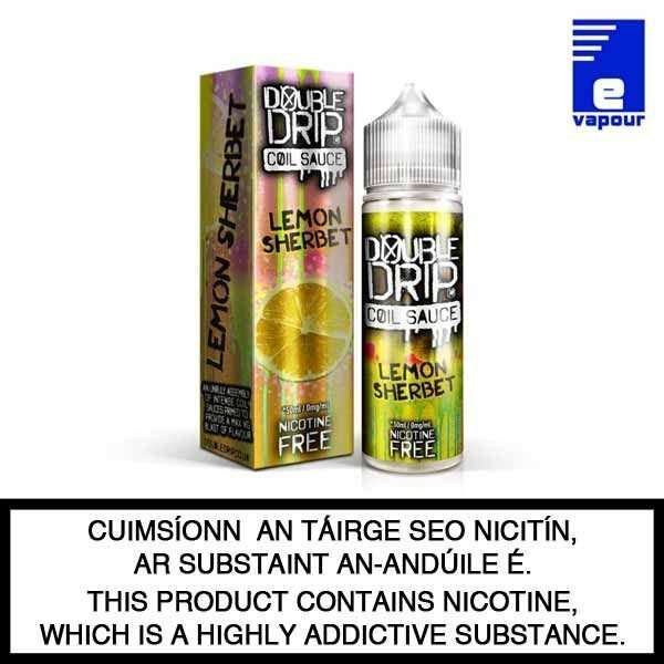 Double Drip 50ml Shortfill - Lemon Sherbet