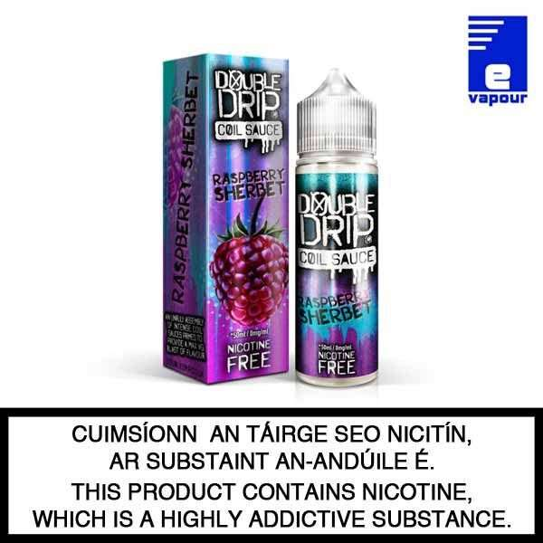 Double Drip 50ml Shortfill - Raspberry Sherbet