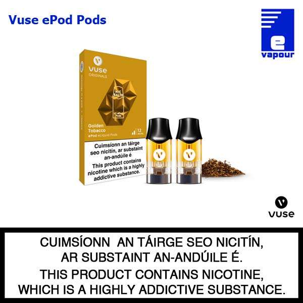 Vuse ePen Pods (2 Pack) - Golden Tobacco