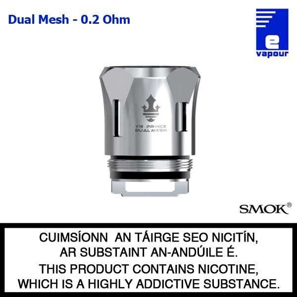 Smok V12 P-Tank Coils (Prince) - Dual Mesh - 0.2 Ohm
