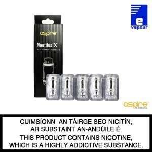 Aspire Nautilus X Coils - 5 Pack