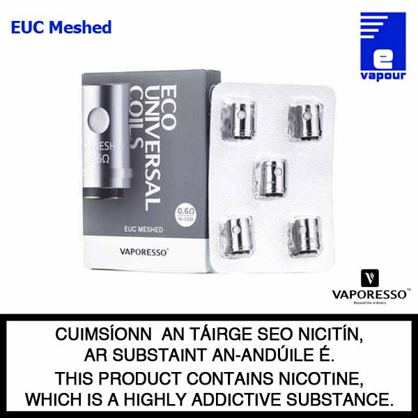 Vaporesso EUC Meshed Coils - 5 Pack