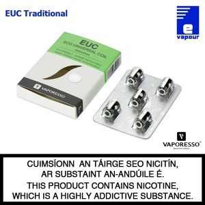 Vaporesso EUC Traditional Cotton Coils - 5 Pack