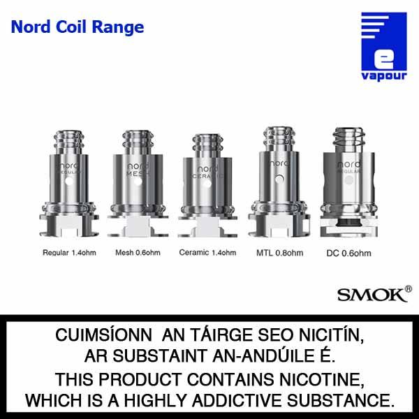 Smok Nord Coil Range