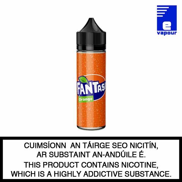 Fantasi 50ml Shortfill e-liquid - Orange