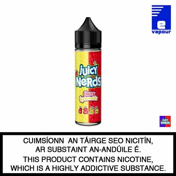 Juicy Nerds 50ml Shortfill - Cherry Lemonade
