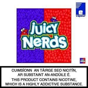 Juicy Nerds 50ml Shortfill Logo