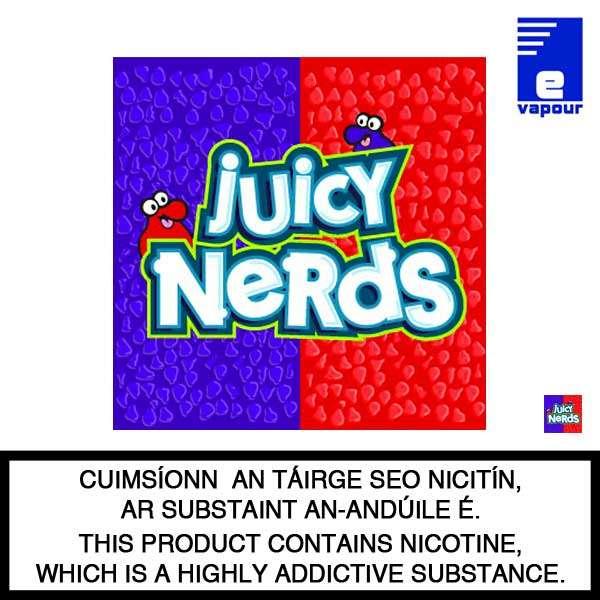 Juicy Nerds 50ml Shortfill Logo