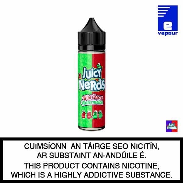 Juicy Nerds 50ml Shortfill - Wild Cherry Lemonade